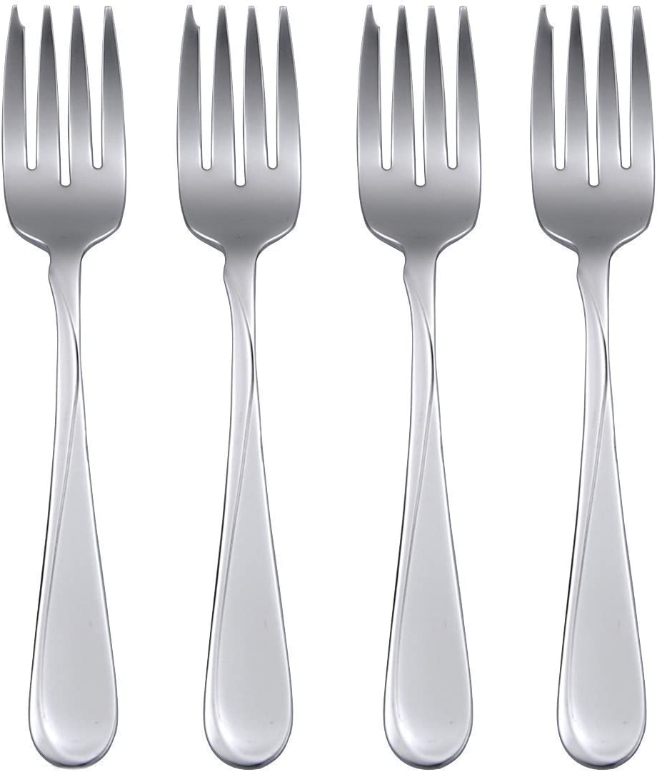 Oneida Flight Everyday Flatware Salad Forks Set Of 4 Kitchen Dining