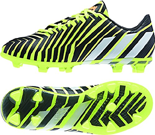 Adidas Predator Instinct FG Junior (Light Flash Yellow, Dark Grey) Sz. - Transparent Adidas