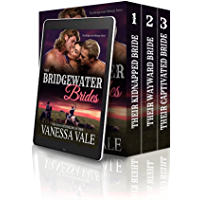 Their Bridgewater Brides (MFM Historical Cowboy Ménage Romance): Books 1-3 (Bridgewater Menage)