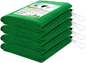 HOMIMP Frost Protection for Plants,4 Pack of Drawstring Plant Covers (31.5