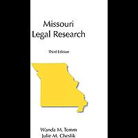 Missouri Legal Research, Third Edition