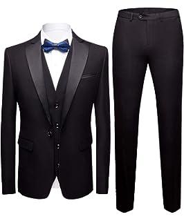 Mens Suits 3 Piece Tweed Suit Slim Fit Wedding Classic Herringbone Check Vintage Suit Tuxedo Formal