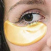 25 Pairs Collagen Eye Masks,Gold Powder Eye Masks Face Pad Anti Ageing Wrinkle Premium Crystal Gold Collagen EYE Mask Crystal Bio Anti Wrinkle Moisture Skin Care