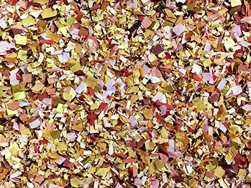Blush Burgundy Rose Gold Copper Gold Confetti Mix Wine Claret Crimson Claret Cabernet Wedding Party Decorations Bulk Wholesale Throwing Send Off Table Decor InsideMyNest (25 Handfuls)
