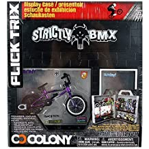 Flick Trix Display Case And Bike - Strictly BMX And Colony