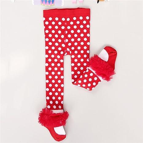 Gugutogo Pantalones de vestir de primavera y otoño de las niñas bebé de invierno Pantimedias de