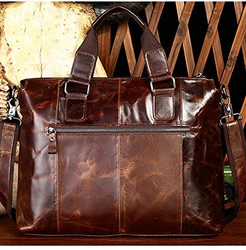 Los Hombres Ocasionales De La Manera Exquisita Bolsa Fría Solo Bolso De Hombro De Hombro Inclinado Multicolor Brown2