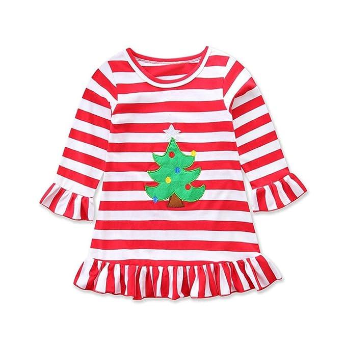 URSING Weihnachten Weihnachtskleid Kleinkind Baby Mädchen ...