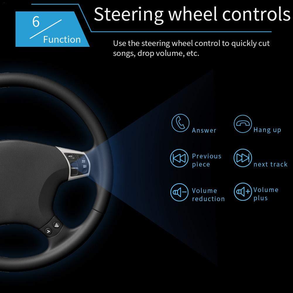 en option prise en charge de la prise en charge mains-libres Bluetooth Autoradio 7 pouces 2 Din avec GPS Navigation AM//FM//RDS//USB//TF//AUX IN A: 7018B ohne Kamera cam/éra de recul