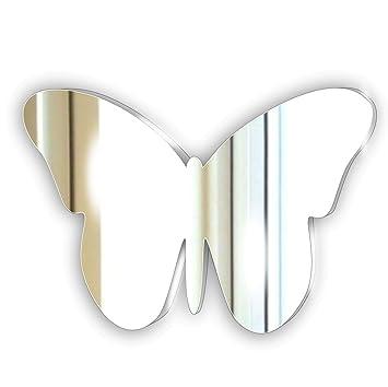 Sécurité Enfant Décoratifs Miroir Acrylique   Pour Enfants Chambre à  Coucher Ornement Papillon   Salon