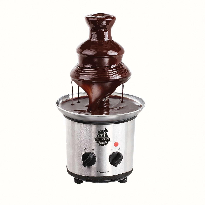 Extra lisse Cascades, Dippen diverser Fruits et p/âtisseries, profondeur Bac Fontaine en Acier Inoxydable Fontaine /à Chocolat /Électrique Chocolat Chocolat Fontaine 1000/g chocolat 320/W