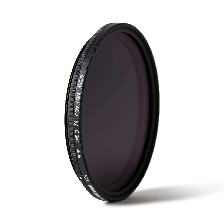 2Peak Filtro per obiettivi ND variabile ND2-400 52 mm Gobe
