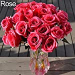 1-Large-Bouquet-24-Heads-Fake-Rose-Artificial-Flower-Wedding-Party-Home-Decor-Ameesi