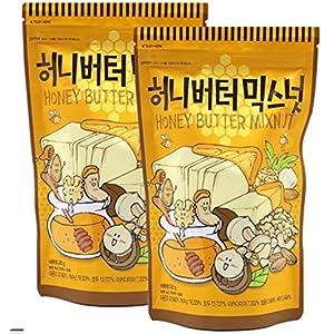 【2個セット】ハニーバターミックスナッツ 220g アーモンド カシューナッツ クルミ マカダミア