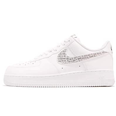 premium selection bae08 e275f Nike Men s Air Force 1  07 Lv8 JDI Lntc Low-Top Sneakers, Multicolour