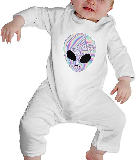 P Alien Calcomanía bebé Crawler Personalidad Escalada ...