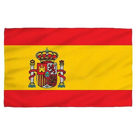 Toalla de playa con diseño de la bandera de España, 91 x 147 cm