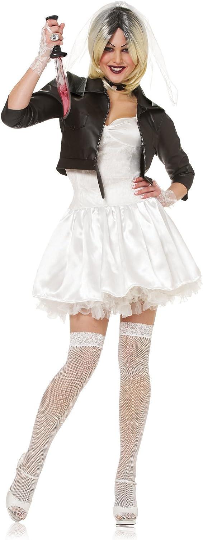 Costume Culture Women's Licensed Bride Of Chucky Costume
