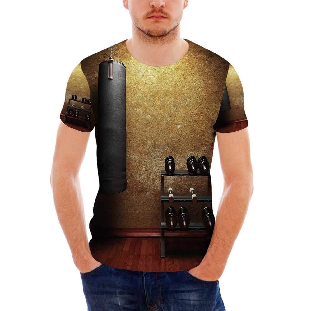Tie Dye Decor Fashionable T Shirt,for Men,S