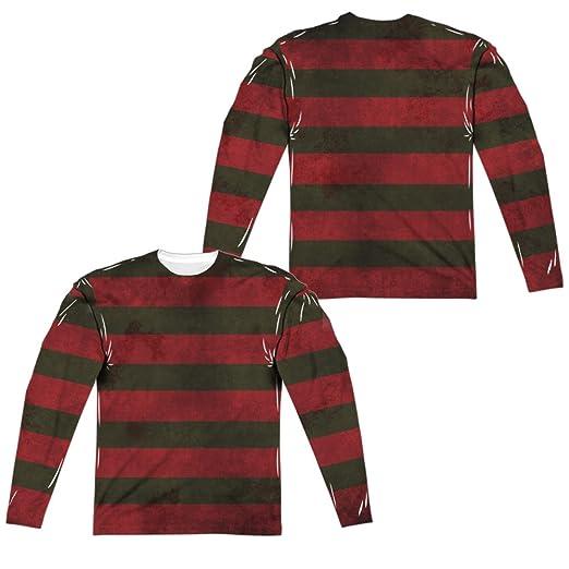 Amazoncom Nightmare On Elm Street Freddy Krueger Sweater All