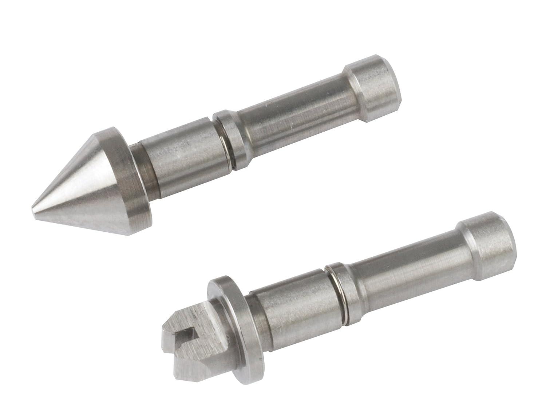 Mitutoyo 126-803, Anvil/Spindle Screw Thread Micrometer Tip Set, 60 Deg. Threads, 14-24 TPI/1-1.75mm