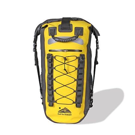 Surf To Summit The Mariner Dry Bag Backpack, Waterproof Backpack, Rolled Down Dry Bag Backpack, Hiking Backpack