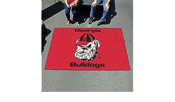 Fan Mats 4959 UGA University of Georgia Bulldogs 5 x 8 Ulti-Mat Area Rug//Mat