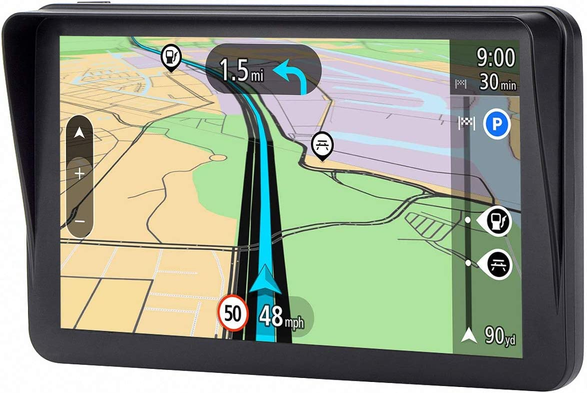 7 inches 8GB Lifetime Map Update Spoken Turn-to-turn Navigation System for Cars GPS for Car SAT NAV Vehicle GPS Navigator