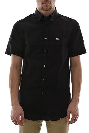 Manches NoirVêtements Chemise Lacoste 40 Ch0221 Courtes PikXZTuO