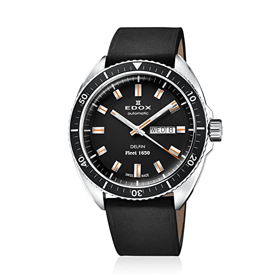 Edox Dolphin Fleet 1650 Edición limitada relojes hombre 88004-3-NIN: Edox: Amazon.es: Relojes