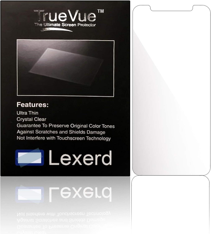 Protector de Pantalla para GPS Lexerd - Compatible with Garmin eTrex Legend TrueVue Antirreflejos