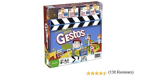 Hasbro Gaming - Juego de Preguntas Gestos (04257105) (versión española): Amazon.es: Juguetes y juegos