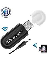 USB Receptor Bluetooth 4.0 Audio Adaptador de Música Inalámbrico y Manos Libres Kits de Coche de