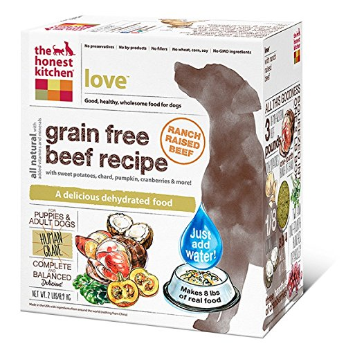 Honest Kitchen LOVE Grain Free Dog Food 2lbs
