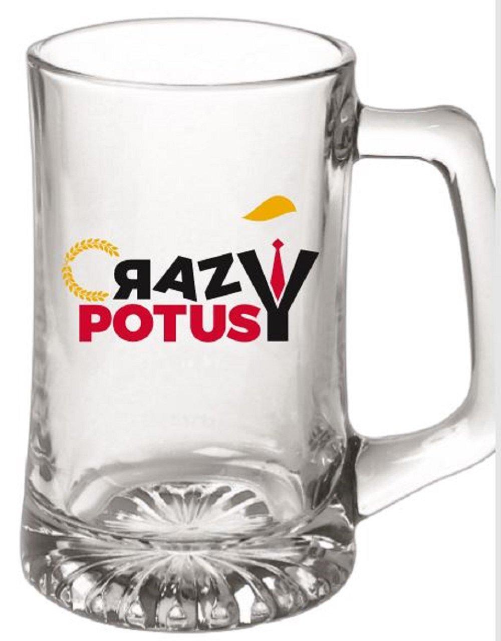 Donald Trump Crazy POTUS 15 oz. Crazytown - Taza de cerveza de ...