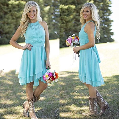 Mint Women's Dress Country Dress Meledy Western Length Knee Guest Wedding Bridesmaid q7fHpPw