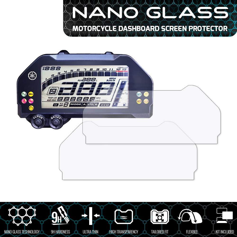 Speedo Angels Nano Glass Proteggi Schermo Per MT-10 FZ-10 x 2 2016+