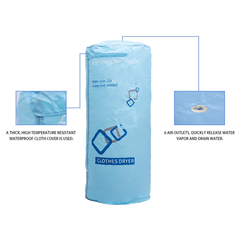 Concise Home Secadora portátil eléctrica tendedero Secadora Mini - Tendedero secador tendedero turística: Amazon.es: Hogar