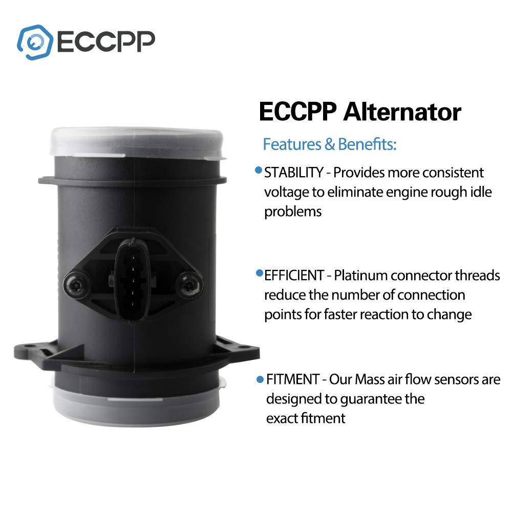 Mass Air Flow Sensor Meter ECCPP MAF 0280218012 for Ferrari 360 2000 2001 2002 2003 2004 2005