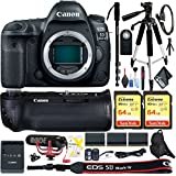 Canon EOS 5D Mark IV DSLR Camera (Body Only) Two Sandisk Extreme Pro Memory Cards Accessory Combo International Model