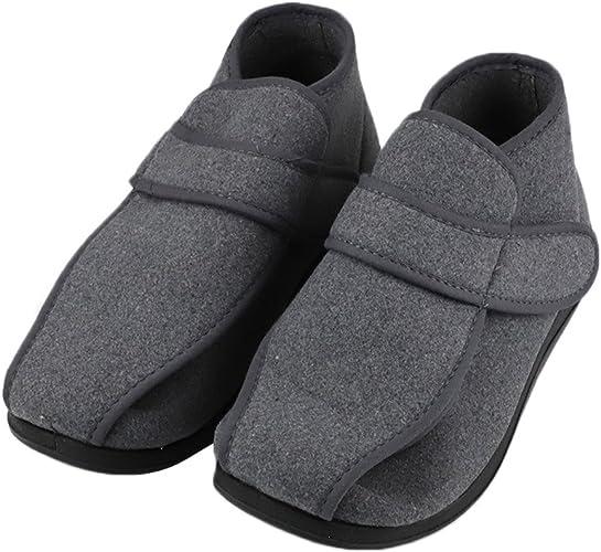CHUANGLI Mens Adjustable Swollen Feet
