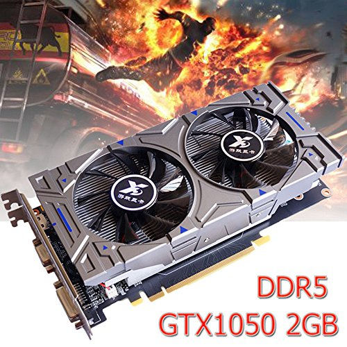 Amyove HDMI Graphics Card,GTX1050//750Ti//970//960 1//2//4GB GDDR5 192Bit