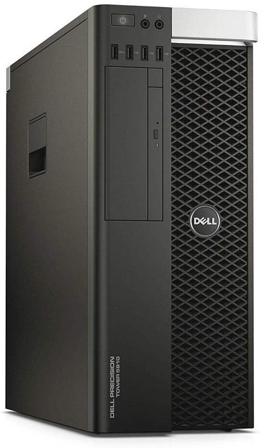 Dell Precision T5810 Workstation Server,Xeon E5 1620 v3 3.5GHz, 256GB SSD+4TB HDD, 16GB RAM, 4GB Nvidia Quadro K2200 4K Graphics Card, USB 3.0, WiFi, Bluetooth, Windows 10 Pro (Renewed)