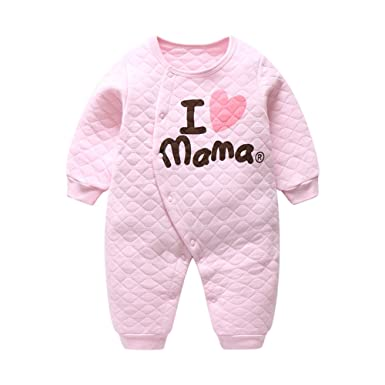 46a9b26d9 Fairy Baby Baby Girl Sleepsuits Cotton Winter Sleepwear Long Sleeve ...