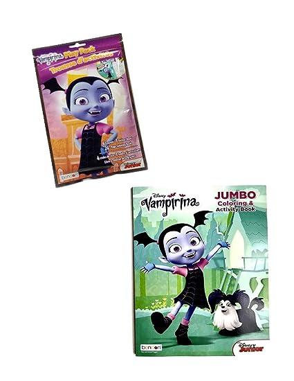 Posters Vampirina Party Supplies Disney Vampirina Coloring Book Super Set 2 Coloring Books and Vampirina Stickers