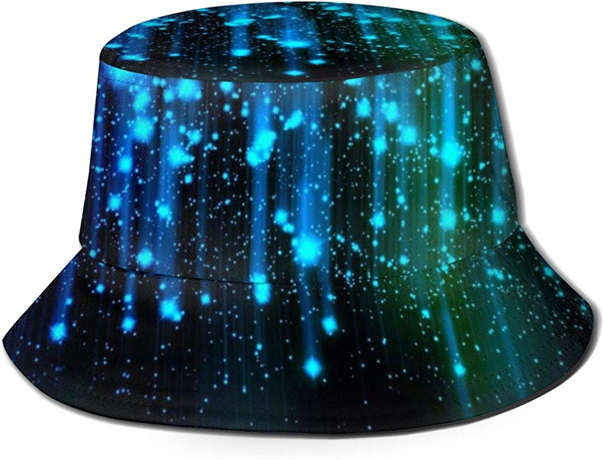 Abstract Lights Bucket Hat...