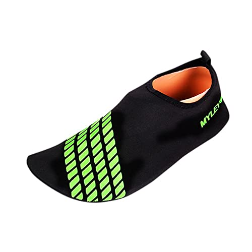 59876be9d1f0 Amazon.com | KUNAW Womens Mens Wide Feet Water Shoes Barefoot Quick ...