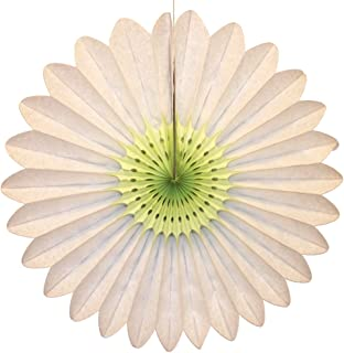 product image for 6-Pack 18 Inch Tissue Paper Fanburst Decoration (Mint Center)