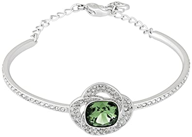 3f656719f3c6 Amazon.com  Swarovski Agility 5037963 Green Emerald w  Clear ...