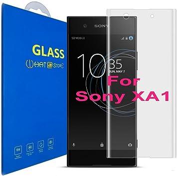 Sony Xperia XA1 Borde Curvado Protector de Pantalla Cristal Templado Protección